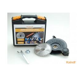Kit scie multi-matériaux pour disqueuse avec capot de protection
