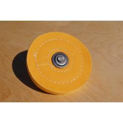 Disque de polissage jaune Ø 125 mm